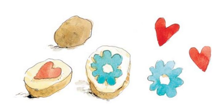 штампики из картофеля