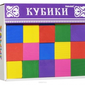 Цветные кубики для детей
