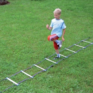 Дорожка-балансир (лестница веревочная напольная) «Лестница ловкости»