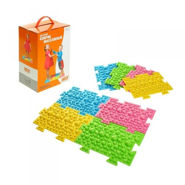 Детский модульный массажный коврик (8 модулей)
