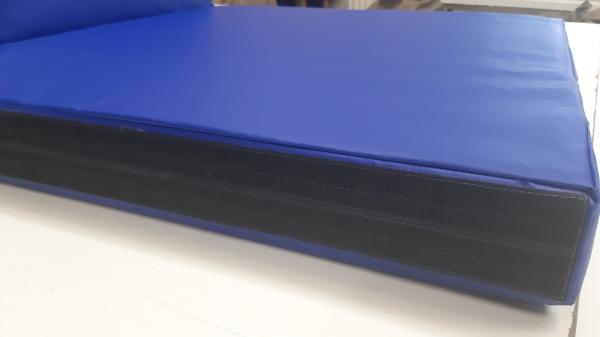 Напольное защитное покрытие наружного периметра металлоконструкции (пог.м) цвет синий 2