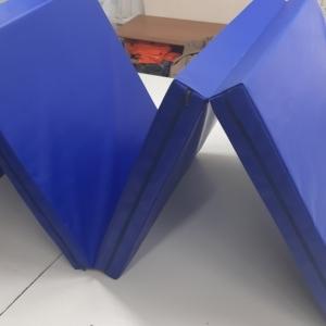 Напольное защитное покрытие наружного периметра металлоконструкции (пог.м) цвет синий 6