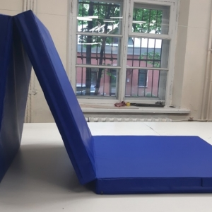 Напольное защитное покрытие наружного периметра металлоконструкции (пог.м) цвет синий 9