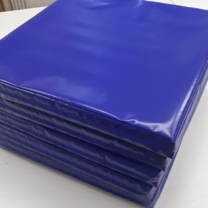 Напольное защитное покрытие наружного периметра металлоконструкции (пог.м) цвет синий 5