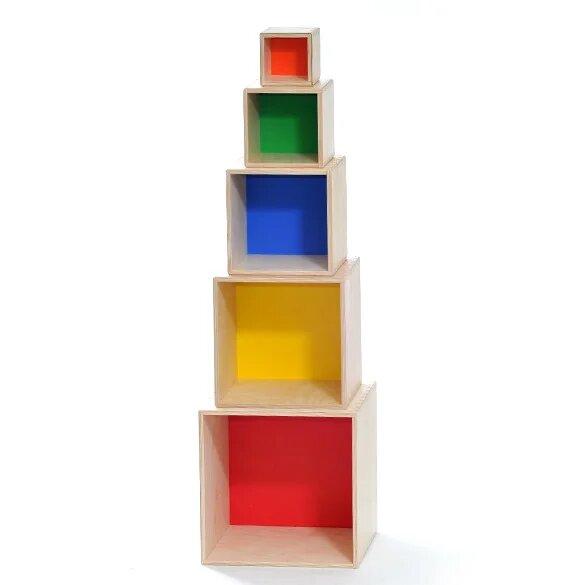 Развивающий набор Кубов - 5 в 1 1