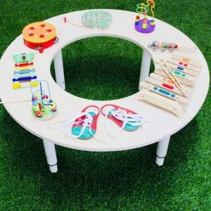 Музыкальный игровой стол для детских садов и игровых комнат