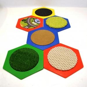 Комплект тактильных ковриков (6 шт)