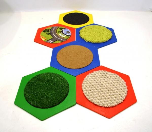 Комплект тактильны ковриков 1