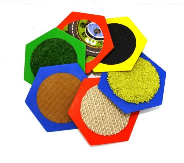 Комплект тактильны ковриков 2