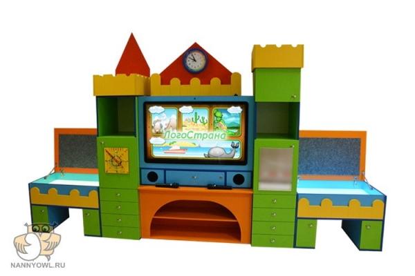 Интерактивный комплекс «Логопедический замок» 1