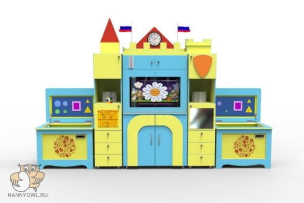 Интерактивный развивающий комплекс с коррекционной направленностью «Логопедический Замок» Logo 53 1