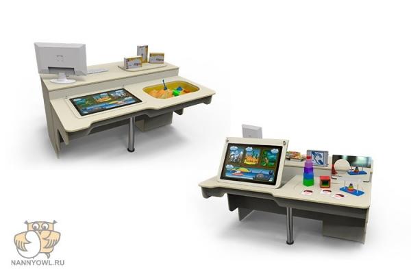 Мультимедийный интерактивный стол психолога-дефектолога (возраст от 3-10 лет) 1