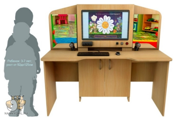 Мультимедийный образовательный интерактивный коррекционно-развивающий логопедический стол Logo 20 1