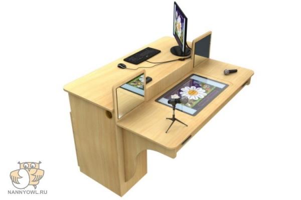 Мультимедийный образовательный интерактивный коррекционно развивающий логопедический стол Logo 25 1