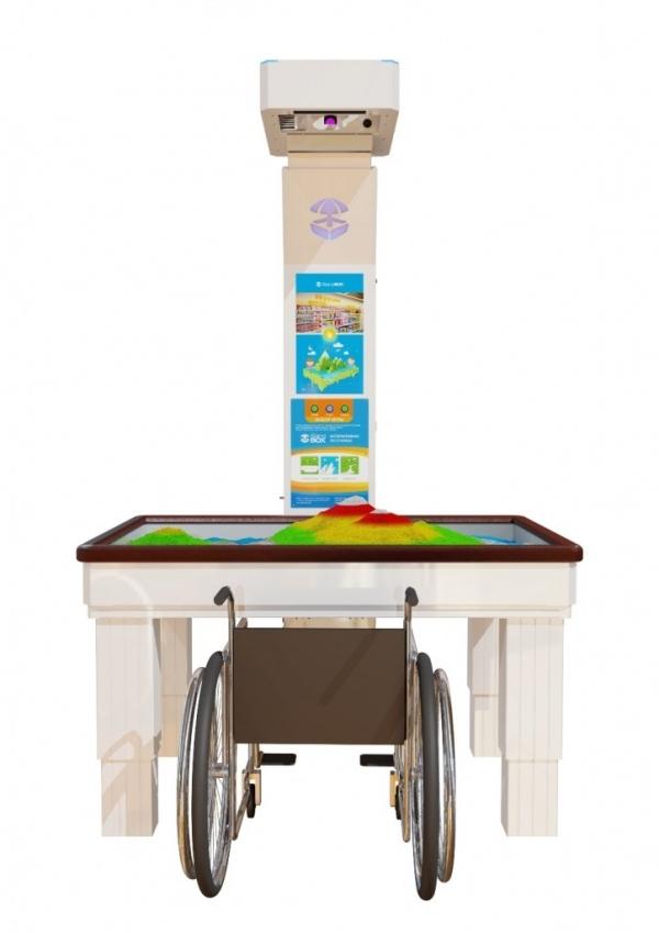 Интерактивная песочница iSandBox Children's Hope для детей с нарушениями опорно-двигательной системы - Фото 2
