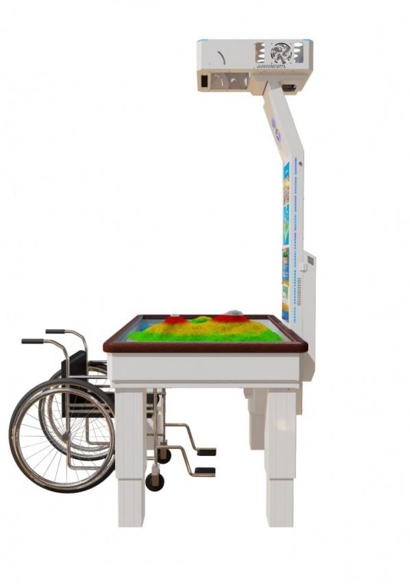 Интерактивная песочница iSandBox Children's Hope для детей с нарушениями опорно-двигательной системы - Фото 3